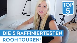 DIE 5 RAFFINIERTESTEN ROOMTOUREN! | TWIN.TV