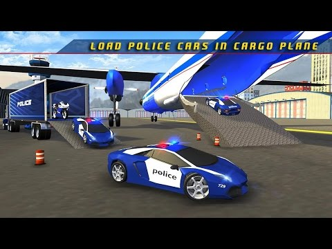 Police Plane Transporter Game - Simulation Car Games - Video