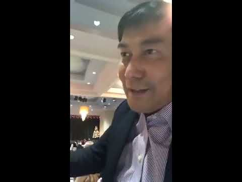 RAFFY TULFO IN ACTION WITH THE FILIPINO COMMUNITY IN CANADA