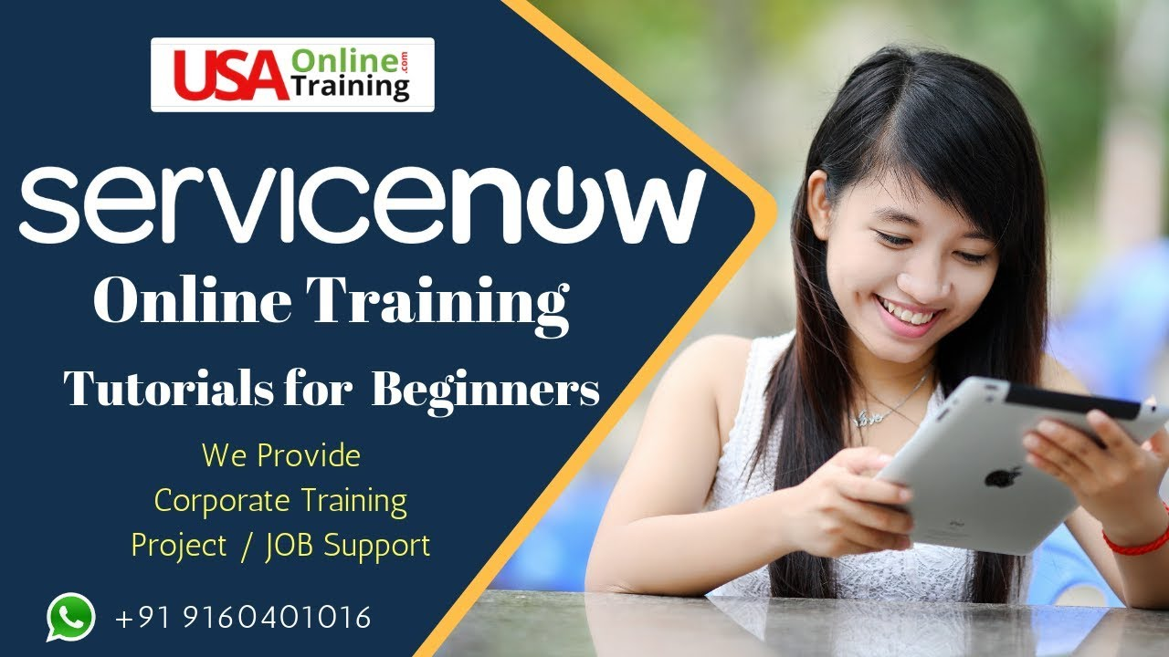 ServiceNow Online Training   Admin & Developer Certification Training