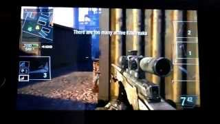 Call of duty black ops declassified 100+ kill with sniper gameplay!