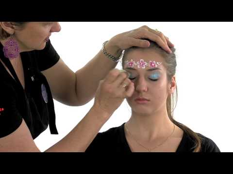Dreamscape Face Painting Video 3&4 - Flower Fairy design
