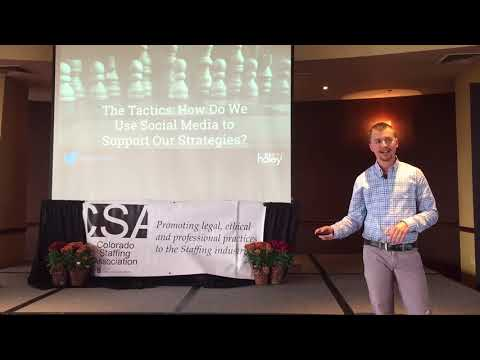 The Road Map: A Step by Step Guide to Social Media Success (Colorado Staffing Association 2017)