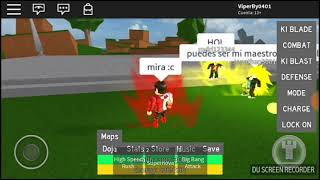cover to noobs with the technical (Achuu) in Roblox xD xD / / Dragon Ball Rage Epico! #1 / / ViperBy