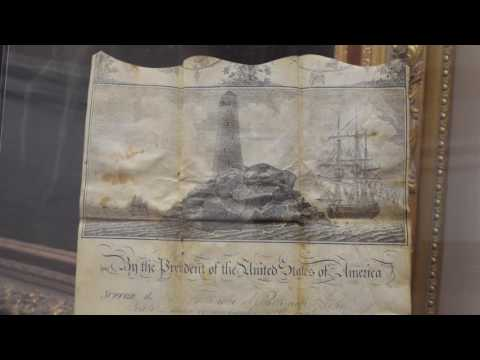 19th Century Ship's Passport, Barbary Coast, Thomas Jefferson