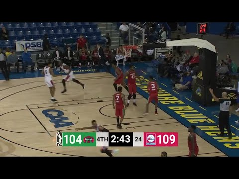 Jacob Pullen (35 points) Highlights vs. Maine Red Claws