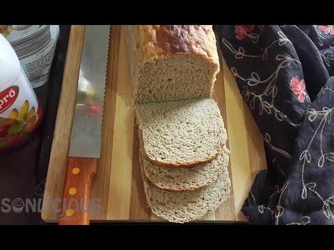 Nutritious Homemade Multigrain Sandwich Bread Recipe