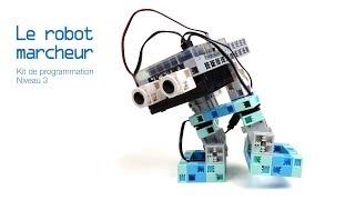 Manuel n°11 : Les robots marcheurs (éducation nationale - collège)
