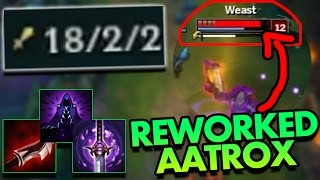 FULL LETHALITY REWORKED AATROX JUNGLE IS INSANE - PBE League of Legends Commentary