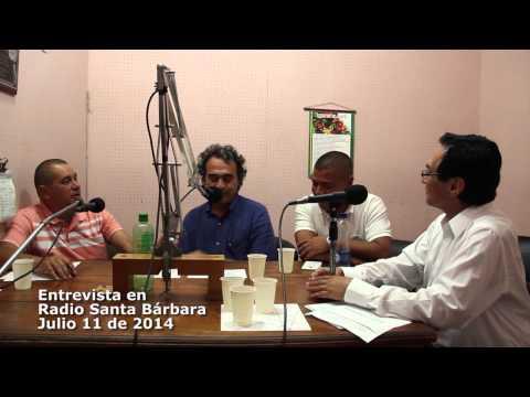 Entrevista de Sergio Fajardo con Radio Santa Bárbara
