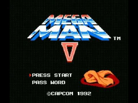 Mega Man 5 (NES) Music - Gravity Man Stage