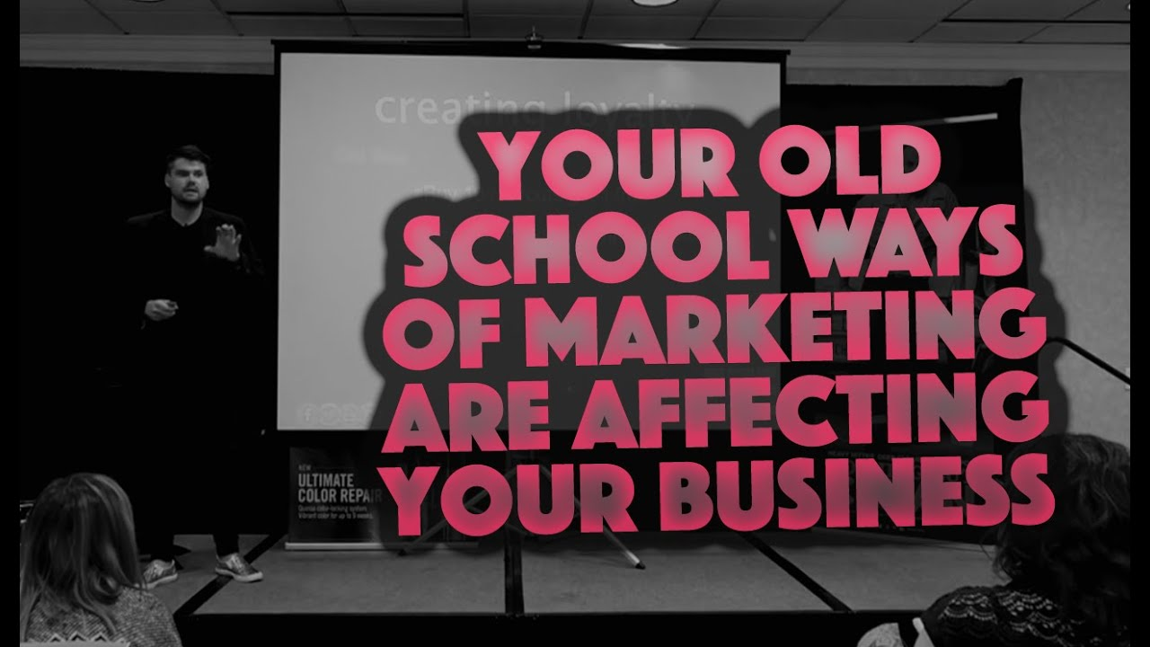 Why Your Old School Ways Of Marketing Are Affecting Your Business - Michigan Keynote Matt Beck