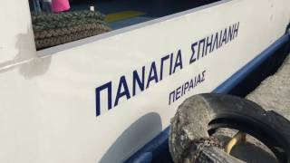 Greek islands - Kardamena to Nisyros ferry - Panagia Spiliani