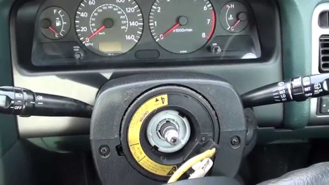 Toyota Avensis Steering Wheel Removal Guide