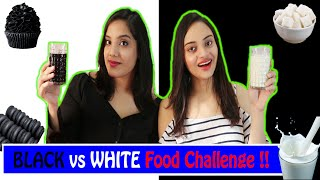 Black vs White Food Challenge | Life Shots