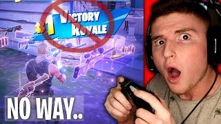 I can\'t believe this actually happened in fortnite.. (Infinite Lists)