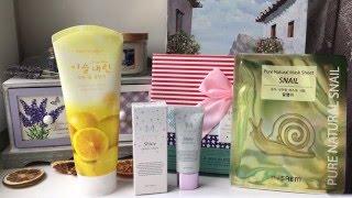 Корейский beauty box / Покупки корейской косметики / Premium Korea(https://premiumkorea.ru/beautybox-koreickoi-kocmetiki-231619932.html - коробочка http://premiumkorea.ru/ Instagram - erschowa Periscope / Snapchat ..., 2016-05-18T12:37:31.000Z)