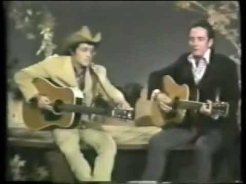 Ramblin' Jack's first Johnny Cash Show appearance