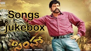 Simha Telugu Movie Full Songs || Jukebox || Bala Krishna,Nayantara,Namitha,Sneha Ullal