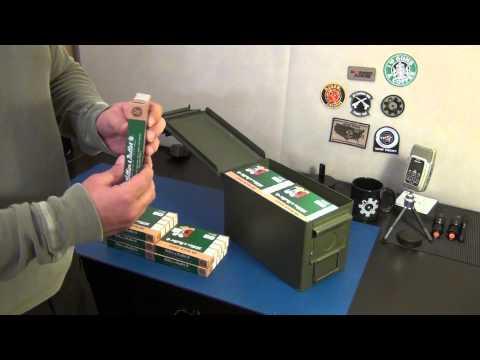Long term shotgun ammo storage
