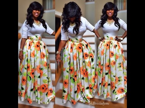 Ankara Skirt Styles You Just Need To See Youtube