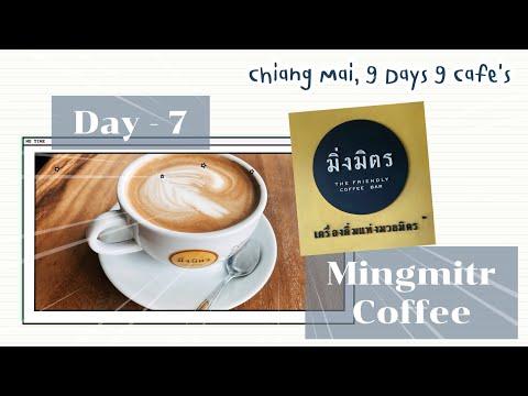 1 min with me | Day-7 Mingmitr Coffee ร้านกาแฟมิ่งมิตร เชียงใหม่ #shorts