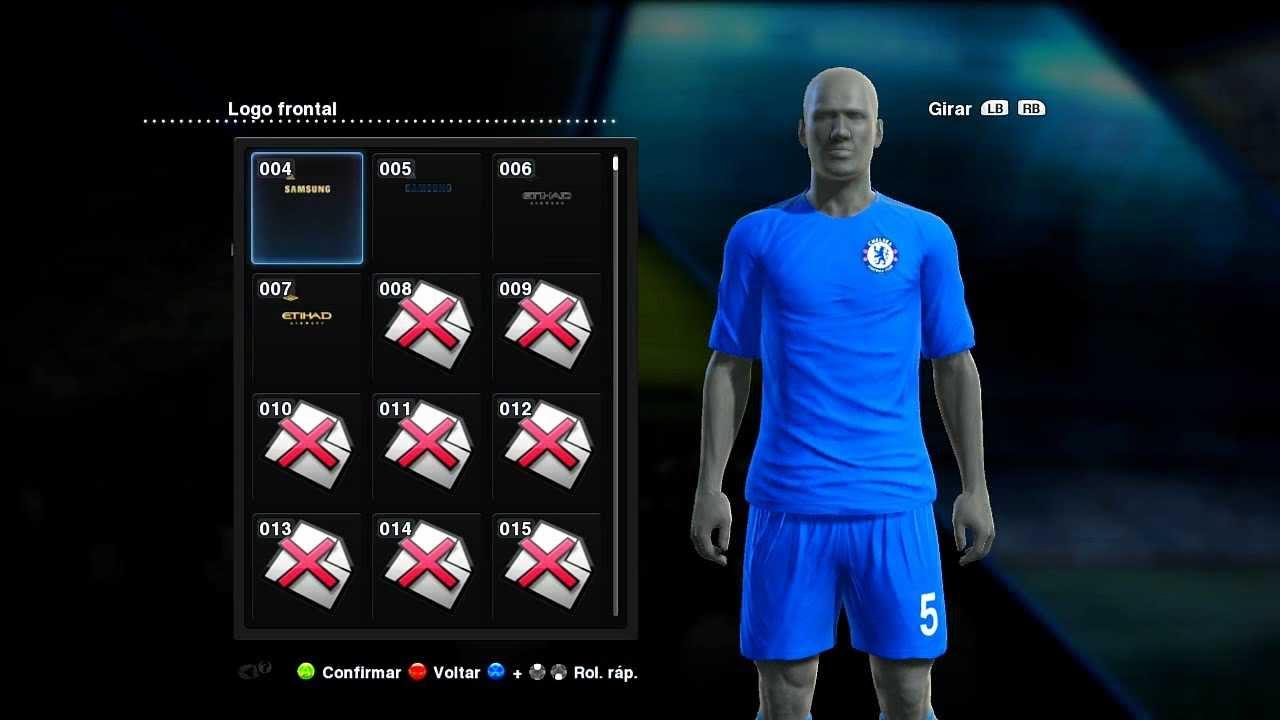 5f5b6be6e4 Pes 2013 Como colocar uniformes Liverpool