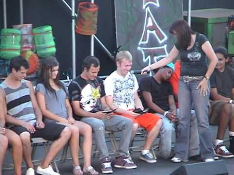 2010 Califonia State Fair Hypnotist Show part 1
