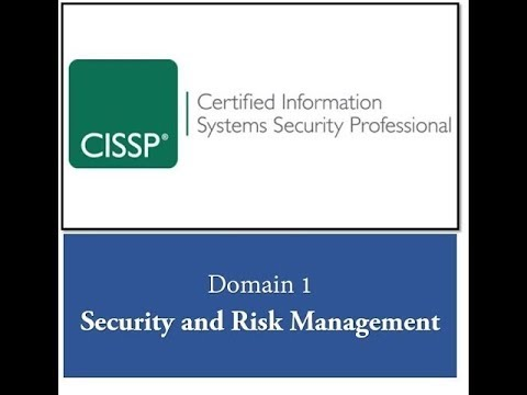 CISSP #34 - Domain 1 - Information Security Laws