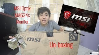 Buy MSI - Optix MAG240VC 23 6 LED Curved FHD FreeSync