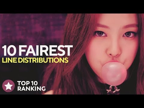 10 FAIREST LINE DISTRIBUTIONS OF MY CHANNEL (100th Video)