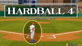 Hardball 4 gameplay (PC Game, 1994)
