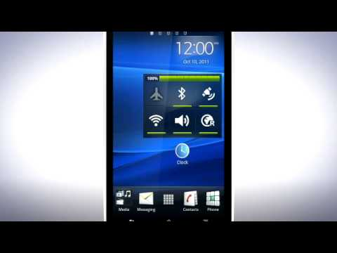Xperia™ arc S - The Home screen