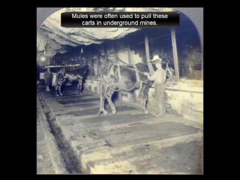 Historic Coal Mining Scenes