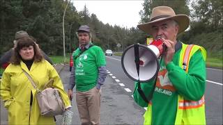 Shannon Airport Protest - Introduction by Ed Horgan, Shannonwatch / World Beyond War #NoWar2019