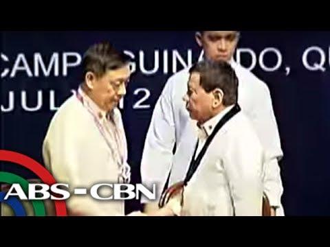 TV Patrol: Duterte, nais ipabalik sa serbisyo si Supt. Marcos
