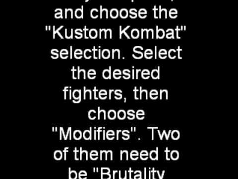 <b>MORTAL KOMBAT</b> X <b>CHEAT CODES XBOX</b> - YouTube