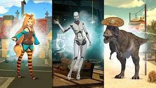 MashMe Kickstarter Video - become an animated character