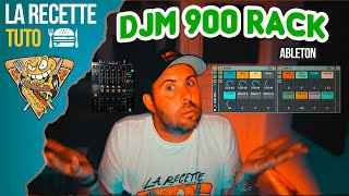DJM900 NEXUS ( ABLETON FX RACK )