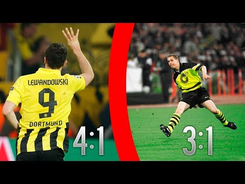 TOP 5 ► Dortmund Matches That You Will NEVER FORGET!!!