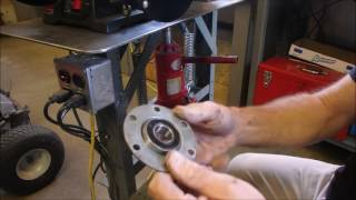 Part 8 MTD Tractor Spindle Repair