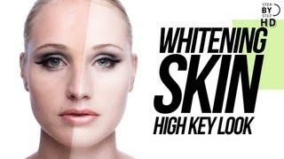 "Whitening Skin In Photoshop "" High Key look """