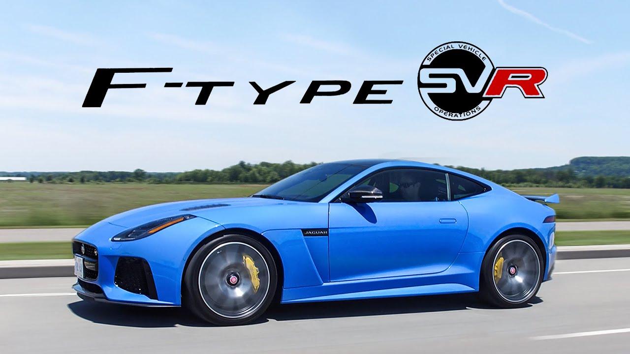 2018 Jaguar F-Type SVR Review - LOUDEST, BEST, POP POP, BBBWWAAAAA EXHAUST  NOT CLICKBAIT db9a0375faf7