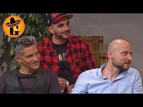 "Mehmet Ali Salman, Aleksandar Petrovic & Faris Rahoma über ""Die Migrantigen"" | Willkommen Österreich"