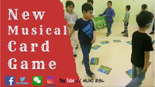 198 - New Musical Card game| Flashcards Game for kids |Mux's ESL games|