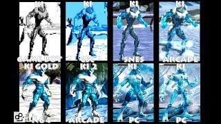 Killer Instinct GLACIUS Graphic Evolution 1994-2016 | GB GBC SNES N64 ARCADE PC | PC ULTRA