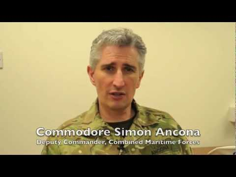 Commodore Simon Ancona discusses Combined Maritime Forces