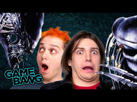 FACE HUMPED BY ALIENS (Game Bang) |