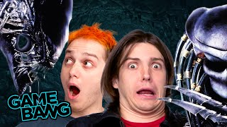 FACE HUMPED BY ALIENS (Game Bang)