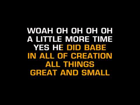 NSYNC - God Must Have Spent A Little More Time On You (Karaoke)